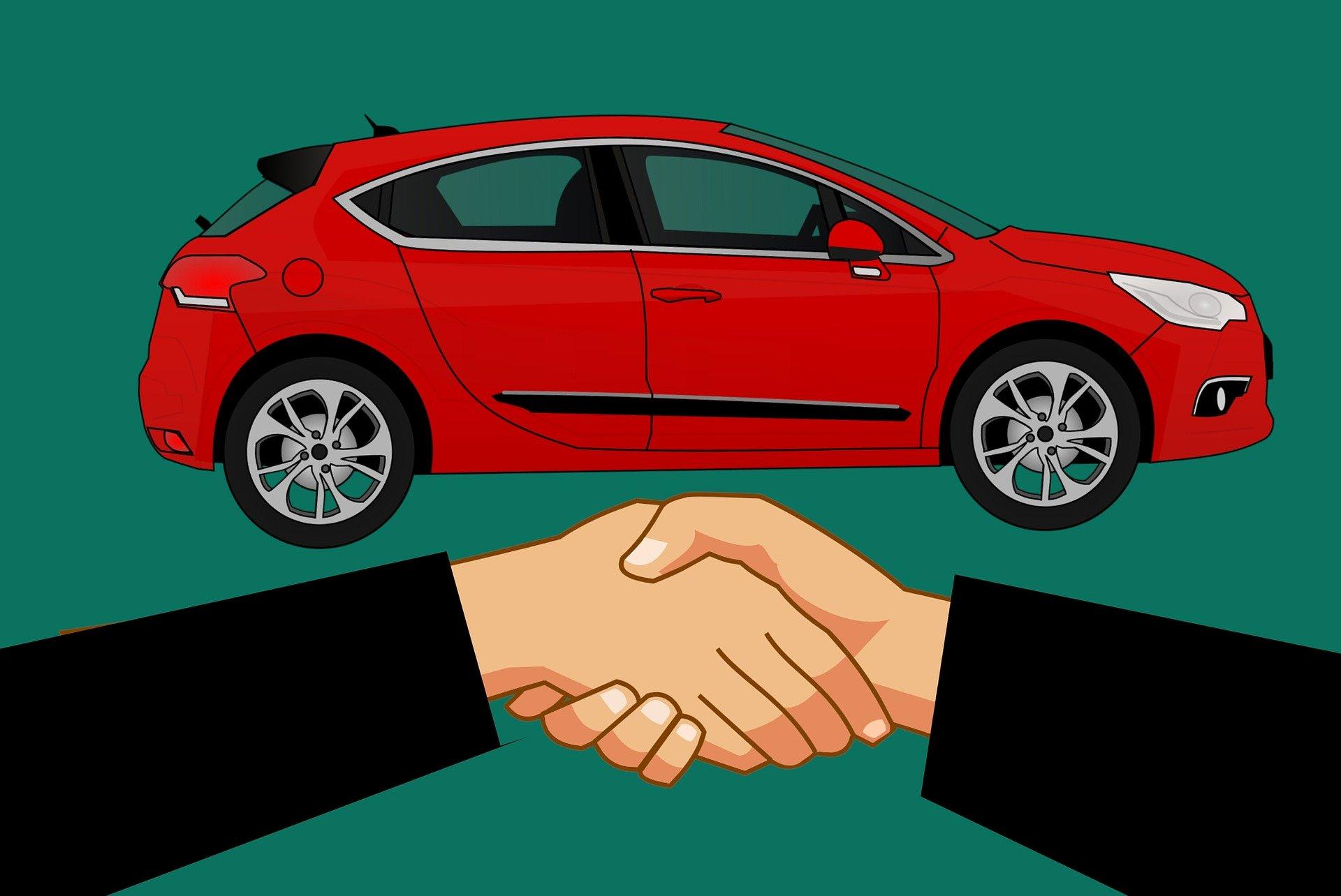 Transakcja zakupu samochodu